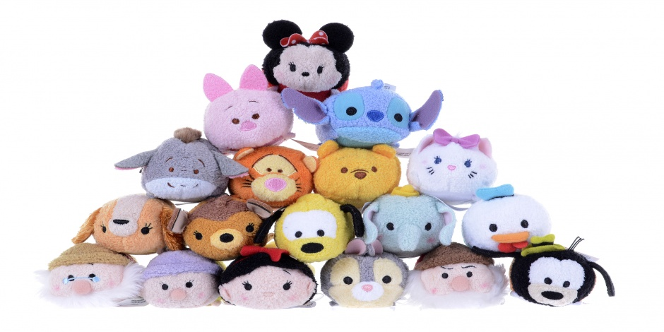 Tsum Tsum stuffed animals become a big hit