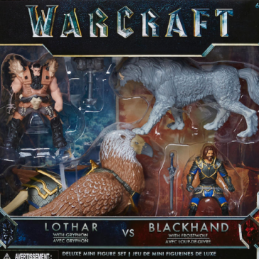 Jakks Pacific has launched the new Warcraft toys from the upcoming movie