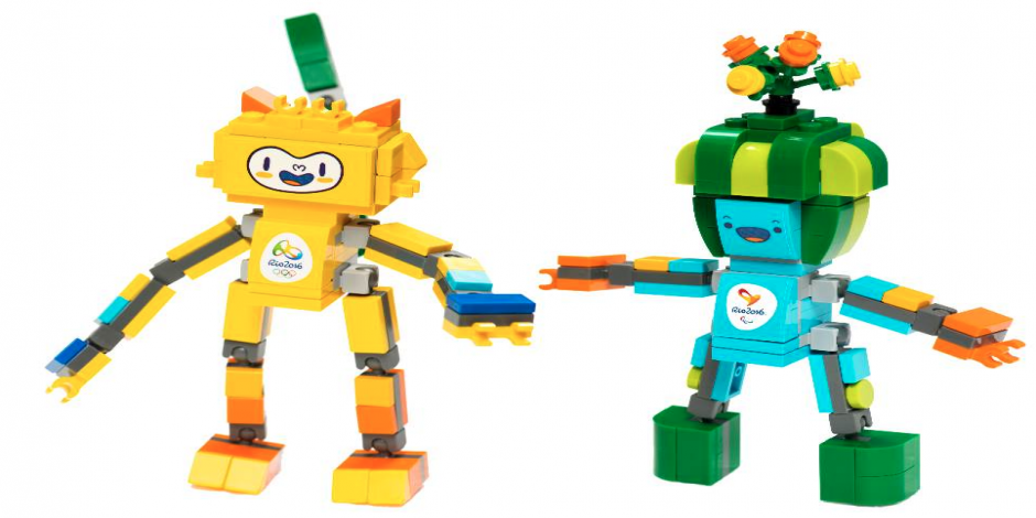 LEGO unveiled its first ever playsets for Olympic mascots for Rio