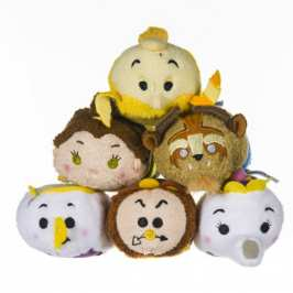 Disney expands the Tsum Tsum line with Beauty and the Beast plushies