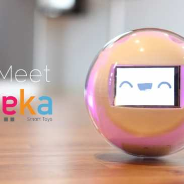 The smart toy Leka helps children with developmental disorders