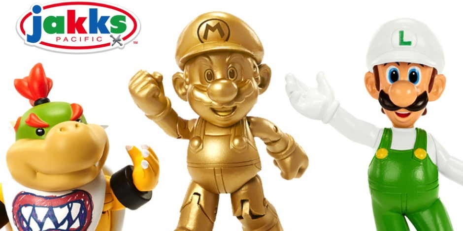 Jakks Pacific unveils new Nintendo toy collection including plushies