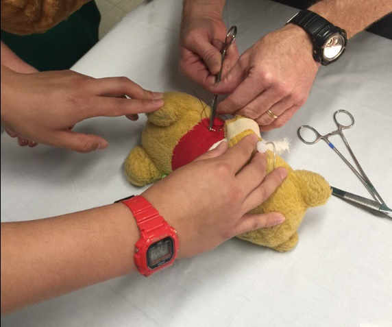 Hennepin County Medical Center just did a special Teddy Bear operation
