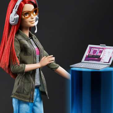 Mattel launched a Game Developer Barbie doll