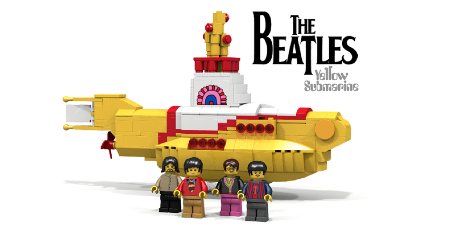 LEGO launches a Beatles Yellow Submarine playset