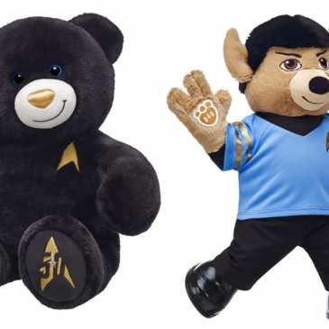 Build-A-Bear unveils new 50th Anniversary Star Trek teddy bears