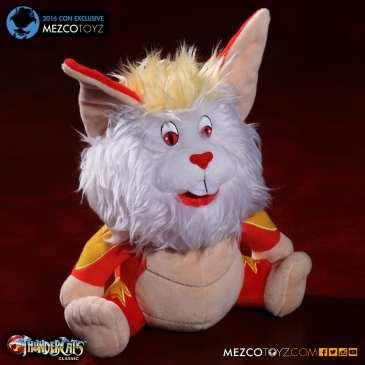 Mezco launches ThunderCats Snarf stuffed animal for Comic-Con