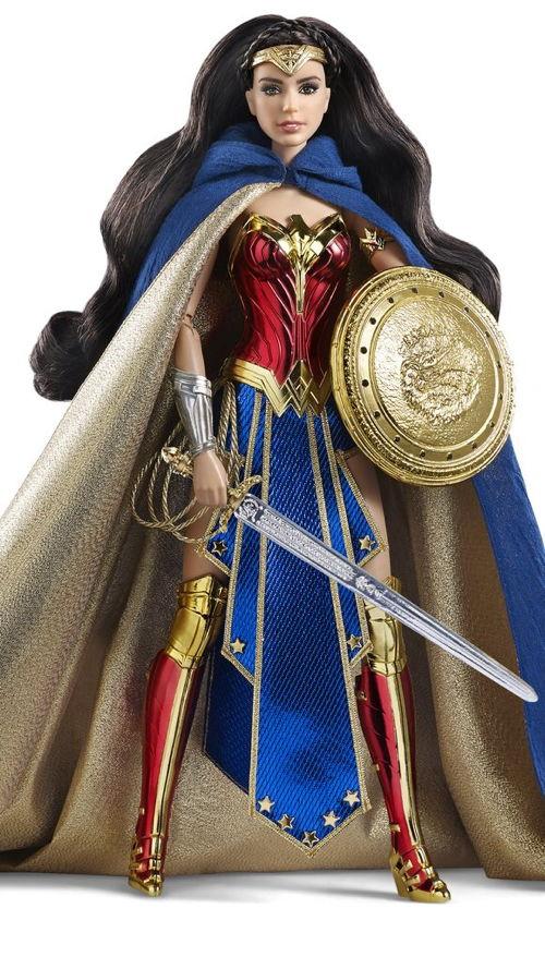 Mattel is working on a Wonder Woman Barbie Doll
