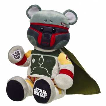 Boba Fett joins the Build-A-Bear Star Wars line