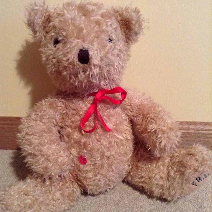 Project Buttony Bear donates stuffed animals to kids with a stoma