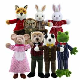 The Puppet Company shows off new Dressed Animal Puppets line