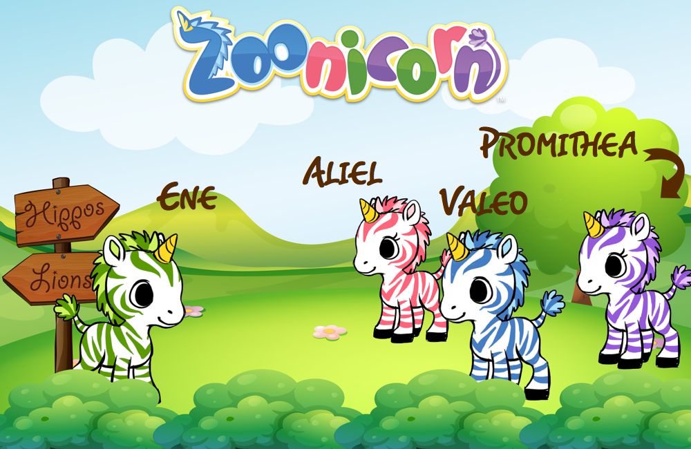 Zoonicorns are a new line of stuffed animals and story books