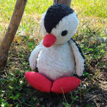 How we saved our plush penguin from mold