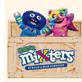 Build-A-Bear unveils its new line of Monster Mixters plushies