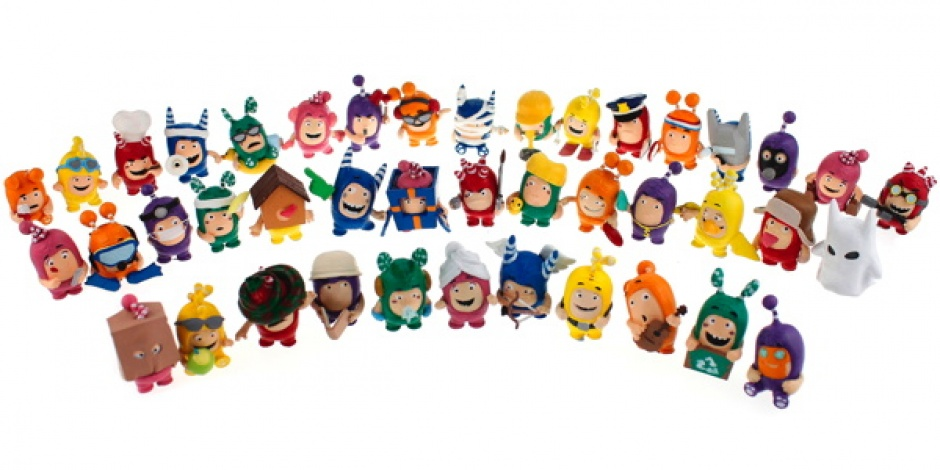 Golden Bear draws more focus to the Oddbods series