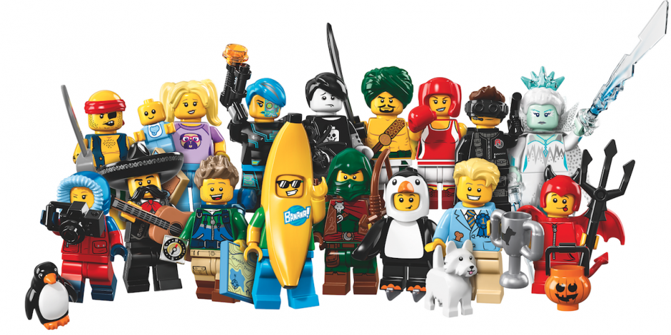 LEGO adds an entire new series of Minifigures