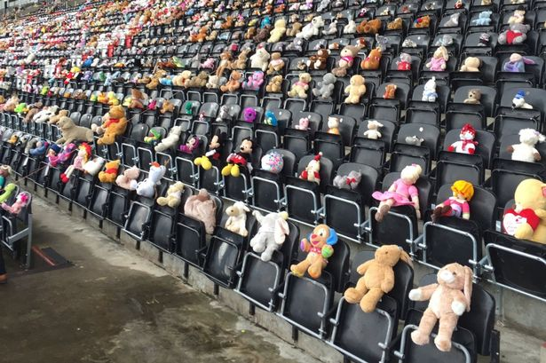 2018 Teddy Bear Posse collects a record 4500 stuffed animals