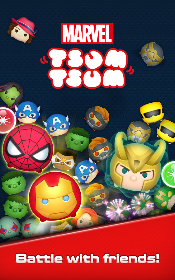 Marvel Tsum Tsum stuffed animals get their own mobile game