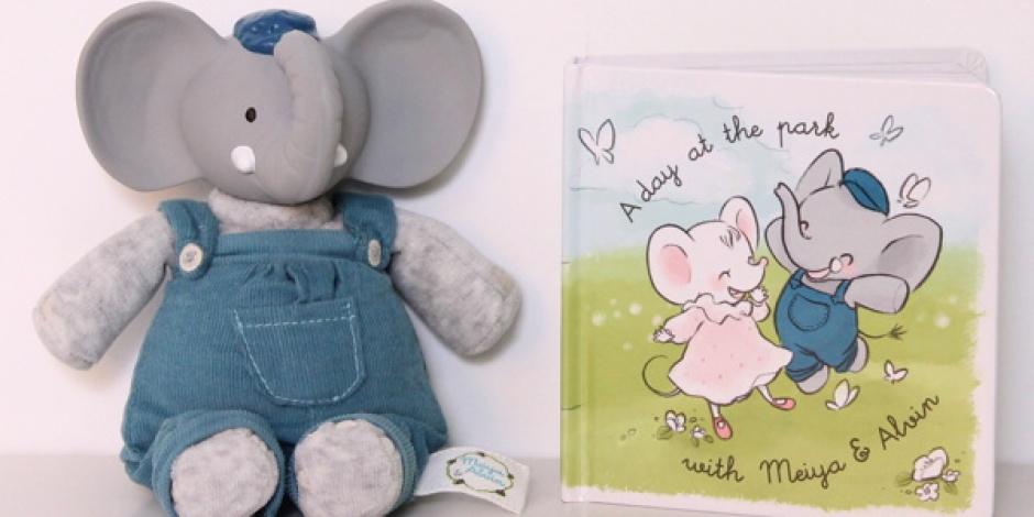New Meiya & Alvin stuffed animals combine rubber and plush