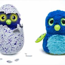 Meet the Hatchimals - interactive tamagochi-like stuffed animals
