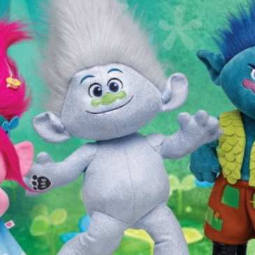 Build-A-Bear adds customizable plush Trolls to its line