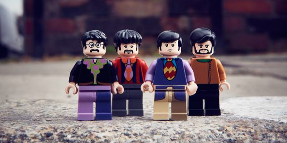 LEGO introduces a new Beatles Yellow Submarine playset