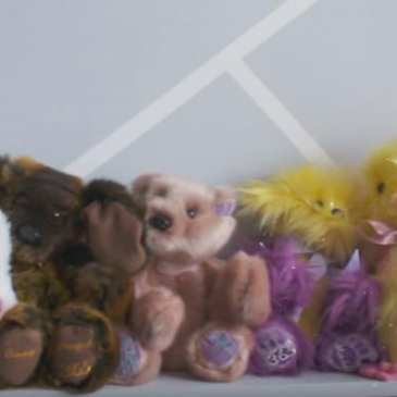 12-year-old boy makes teddy bears for sick children