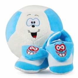 Asobi reveals the new line of plush sport toys Schmaze