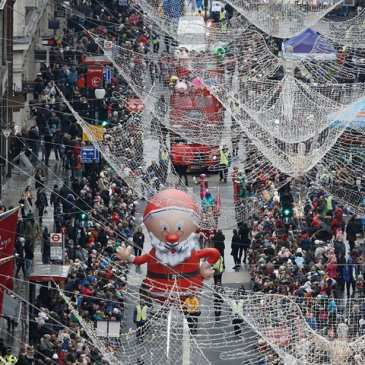 A million people watched Hamleys annual Christmas Toy Parade