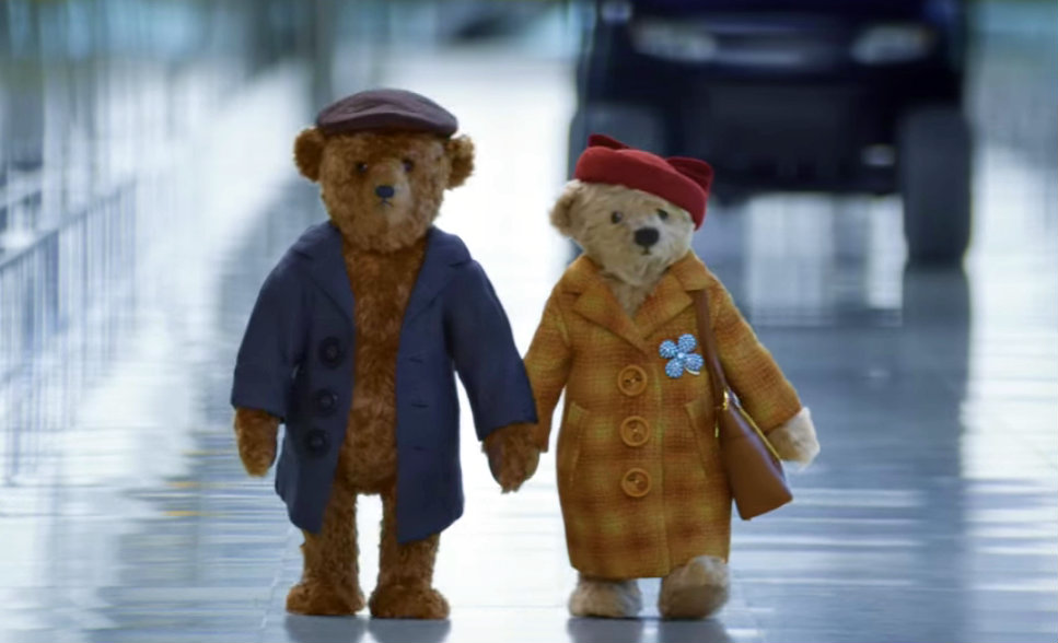 An ad with two old teddy bears at Heathrow Airport will melt your heart
