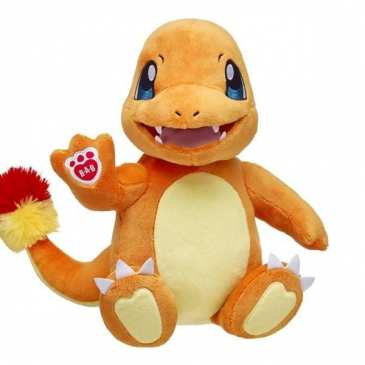 Build-A-Bear adds the Charmander to its stuffed animals