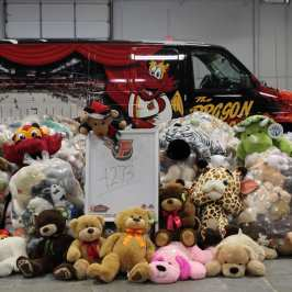 Indy Fuel will host its annual Teddy Bear Toss this Saturday