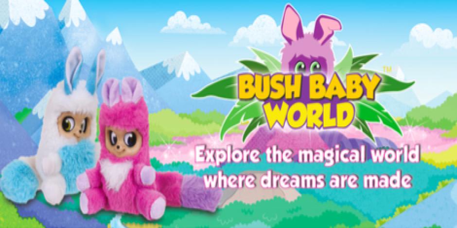 Golden Bear's Bush Baby plush toys get their own web series