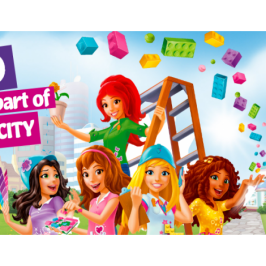 LEGO invites kids to design their own LEGO Friends set