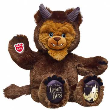 Build-a-Bear unveils new Beauty and the Beast stuffed animals