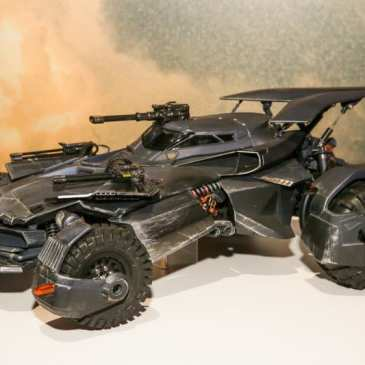 Mattel wows with a stunning replica of the Batmobile in Justice League