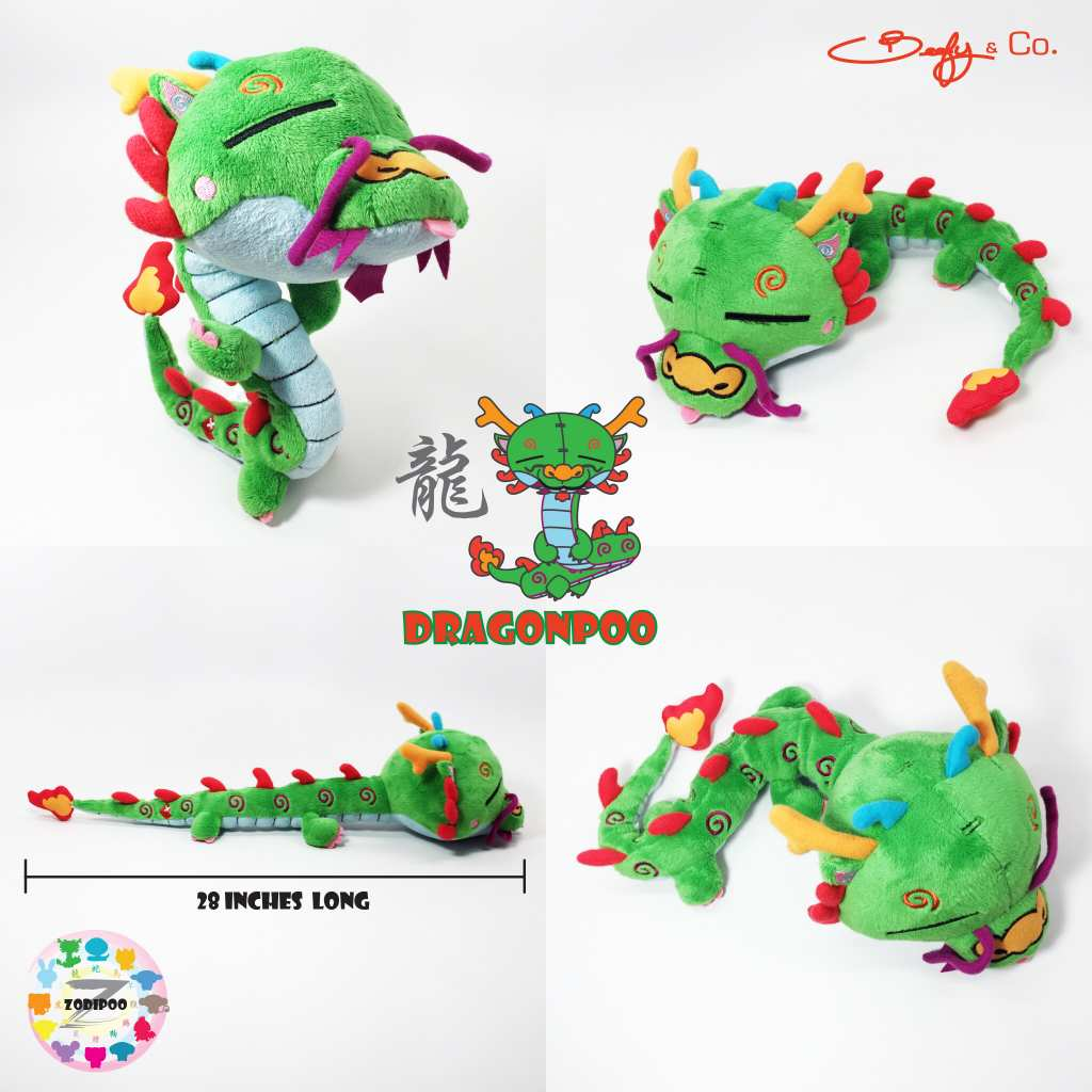 Beefy released a new 28-inch plush Dragonpoo