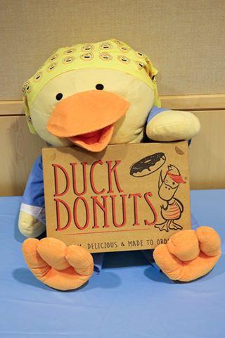 Chemo Ducks stuffed animals help kids with pediatric cancer