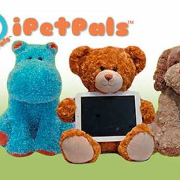 iPetPals launches interactive tech stuffed animals