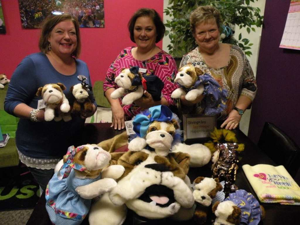 Joy In The Cause organization has donated almost 40 000 stuffed animals