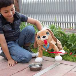 Peppy Pets are robotic plush dogs for when your kids are too young for a real dog