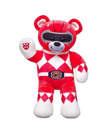 The Build-A-Bear Power Ranger teddy bears are coming