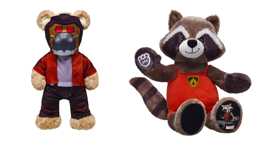Build-A-Bear releases new Guardians of the Galaxy stuffed animals