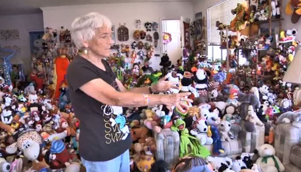 Stuffed animal collector evicted from her apartment for having too many toys