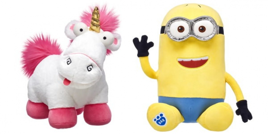 Build-A-Bear adds new Despicable Me 3 stuffed animals