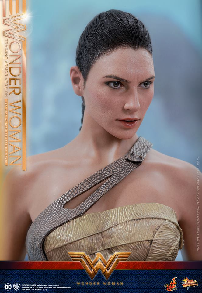 Hot Toys reveals a new, incredibly realistic Wonder Woman action figure