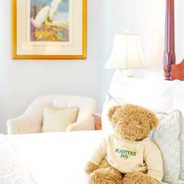 Hotels are starting to offer teddy bears as amenities for guests