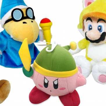 Nintendo releases new Super Mario plush toys
