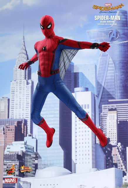 Hot Toys is on a roll with another insanely realistic Spider-Man action figure