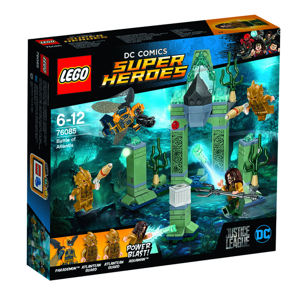 LEGO Justice League playsets